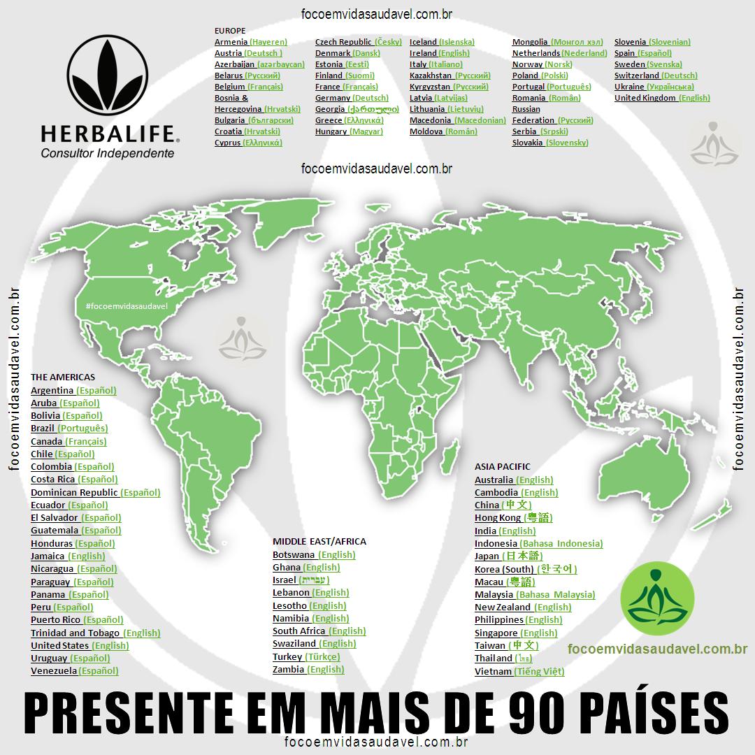 HERBALIFE +90 PAISES
