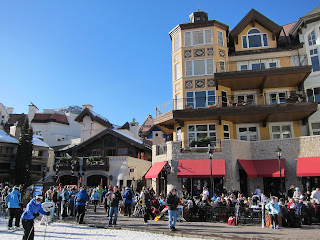 Lionshead Village at the Base of the Eagle Bahn Gondola