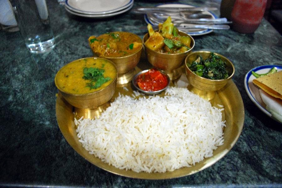 Nepali typical food information nepali cuisine for Cuisine of nepal