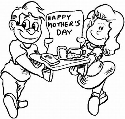 Mothers Day Coloring Pages To Print