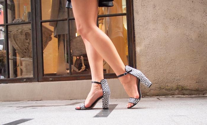 Zara sandals.