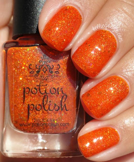 Potion Polish Pumpkin Fizzy