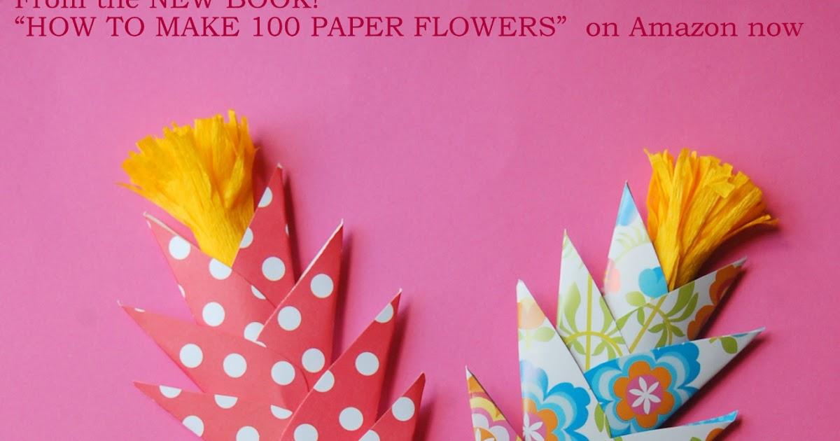 Easy paper flowers for kids diy fire flowers handmade paper easy paper flowers for kids diy fire flowers handmade paper flowers by maria noble mightylinksfo