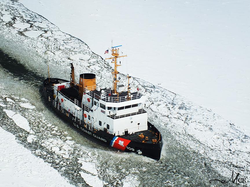 mark c reynolds blog coast guard icebreaker clears hudson river