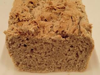 Pain express aux farines de riz et graine de sésame sans gluten et sans lactose