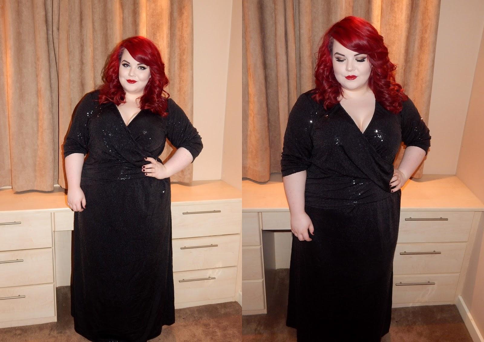 IGIGI Angelica Plus Size Gown, curvety, georgina grogan, plus size blogger
