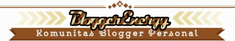 Salam Sapa Blogger Pesonal