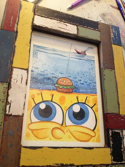 SpongeBob Surrealism | Ice-Cream Monster Toon Cafe