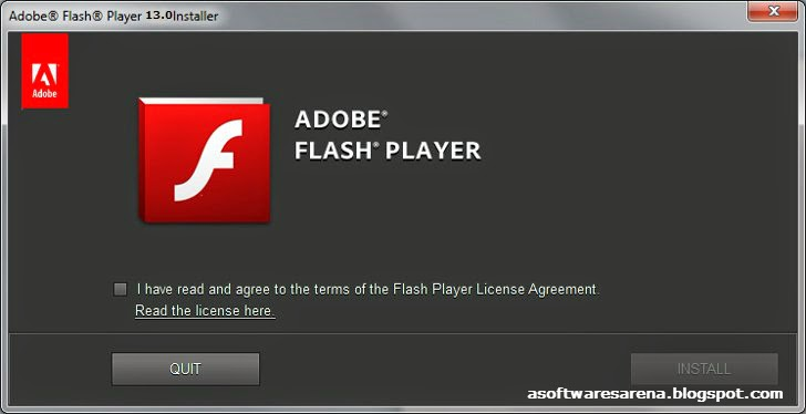 Adobe Flash Player v13.0.0.182