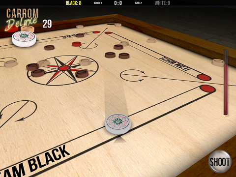 Carrom Deluxe pro apk game