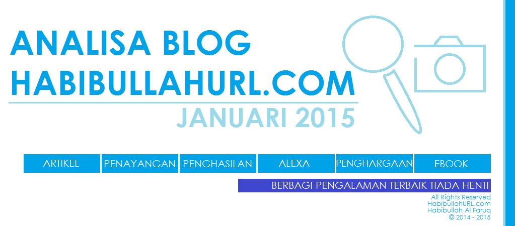 Analisa Blog HabibullahURL.com Januari 2015