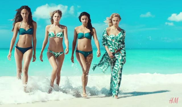 Canzone pubblicità H&M 2015, collezione costumi e nomi modelle