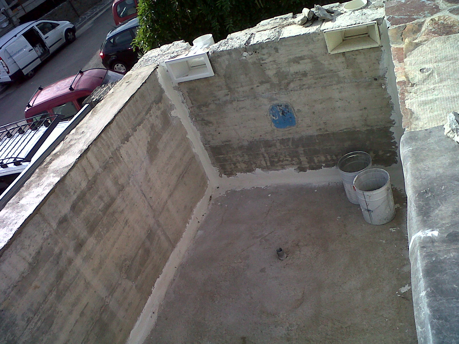 Tanch it piscine b ton avec mosaique de finition for Piscine beton projete