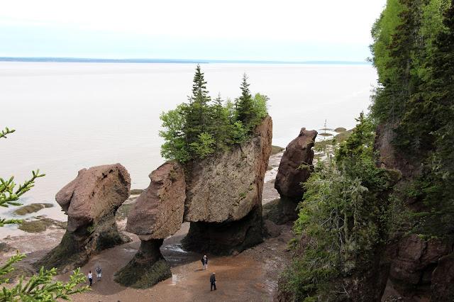 zaliv Fandi,Hopwell Rock