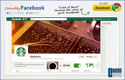ColorMyFacebook,cambiar color,facebook,chrome,firefox