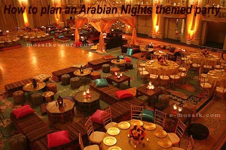 How to plan an Arabian Nights/ harem nights, moroccon themed party