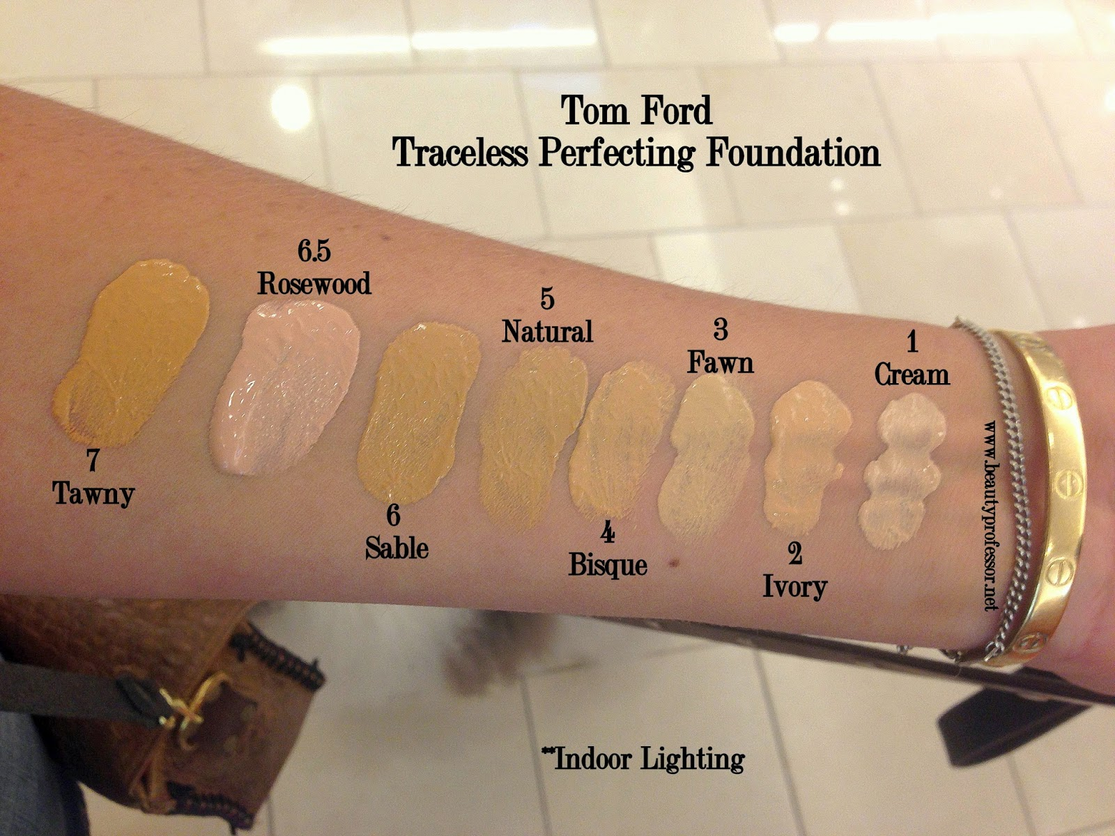 Traceless All Perfecting Tom makeup nyc Foundation Ford  of natural 15 all Shades Swatches