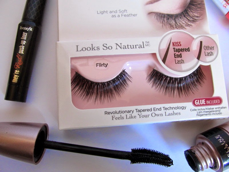 Kiss Flirty False Lashes For A Big Bold Flutter Pretty And Polished