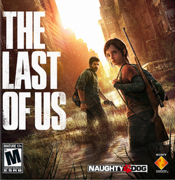 The Last of us PS3 exclusive game cover art