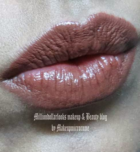 Tips & Toes Hydrarich Lipcolor 04 Mudpie Review, Pictures, Swatch & LOTD, Tips & Toes lipsticks review India, Tips & toes makeup review, Indian makeup blogger, Brown color lipstick, Indian makeup brands, Best brown lipsticks swatches and shades, Indian makeup blogger, Lipstick review and swatches, Indian beauty blogger, Milliondollarlooks makeup and beauty blog, Tips & Toes cosmetics