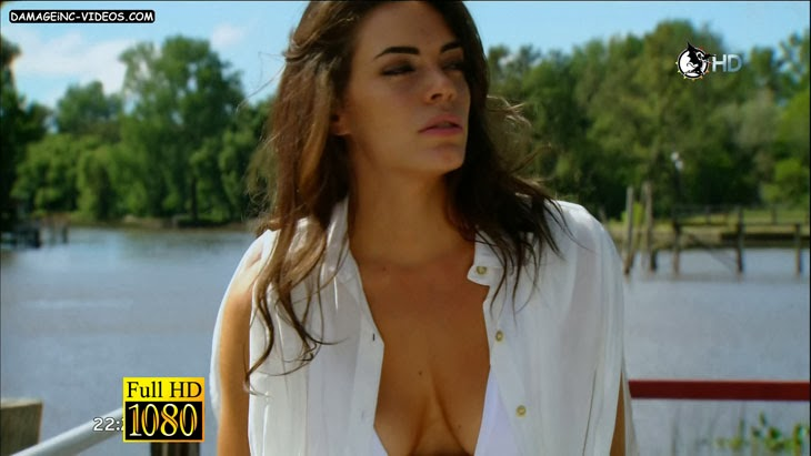 Argentina Celebrity Actress Emilia Attias deep cleavage HD video damageinc