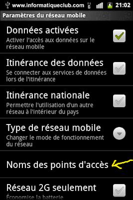 طريقة تشغيل أنترنت Mobilezone على هواتف أندرويد مجانا - http://www.informatiqueclub.com