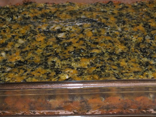 Low Carb Spinach Squares