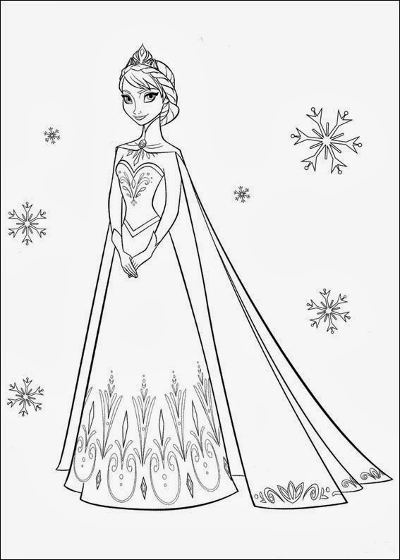Frozen Coloring Pages Jpg : Fun coloring pages frozen
