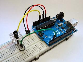 Sensor de proximidade IR e Arduino