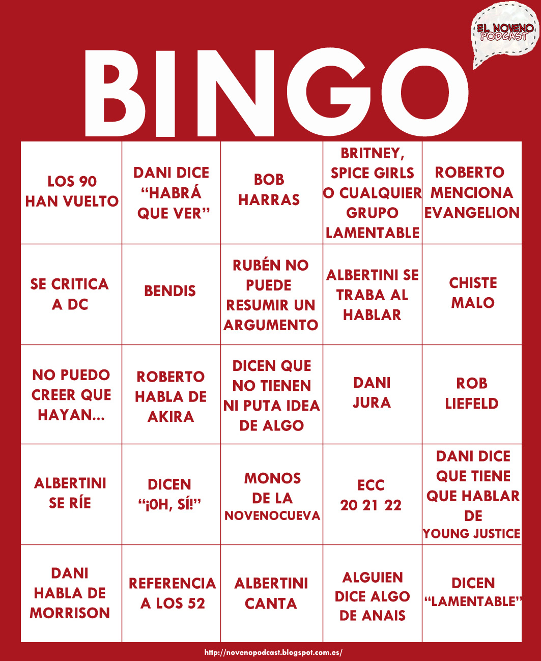 Erotic bingo