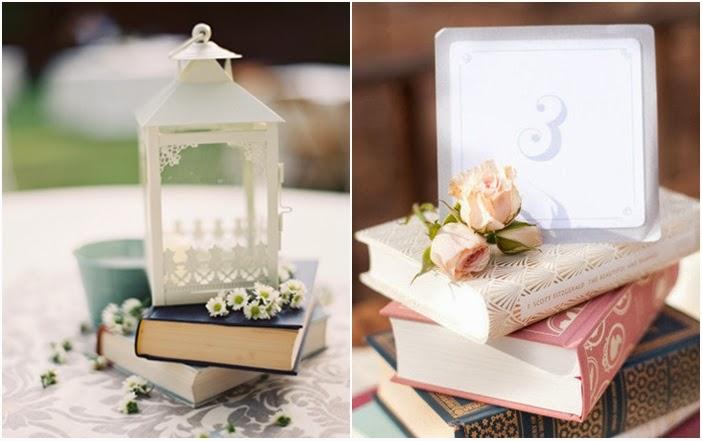 libros para la decoracin de tu boda blog de bodas bodas con detalle