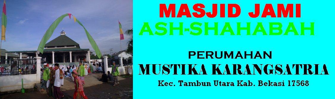 MASJID JAMI' ASH-SHAHABAH
