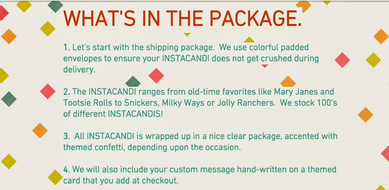 InstaCandi - Send a Treat to Someone Sweet! Review