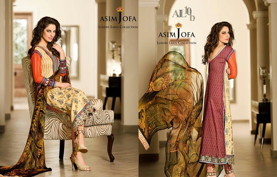 Luxury summer lawn collection 2015