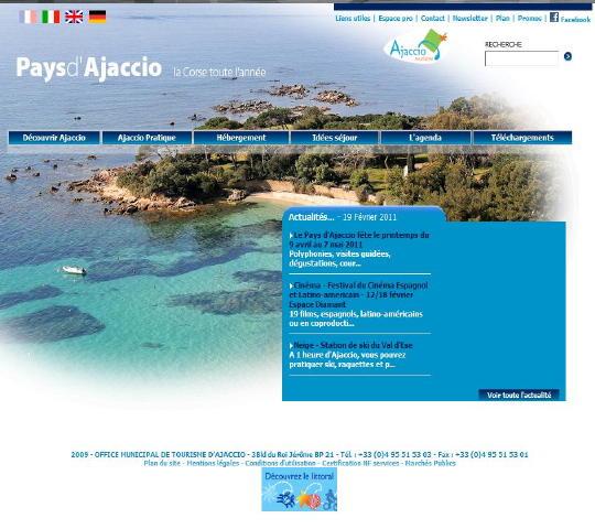 Sortir en corse les offices de tourisme - Office du tourisme d ajaccio ...