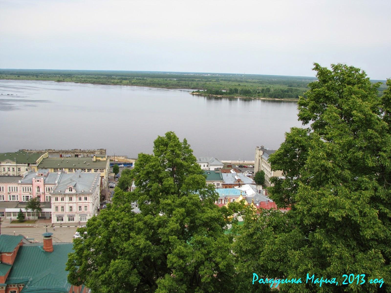 Нижний Новгород Волга