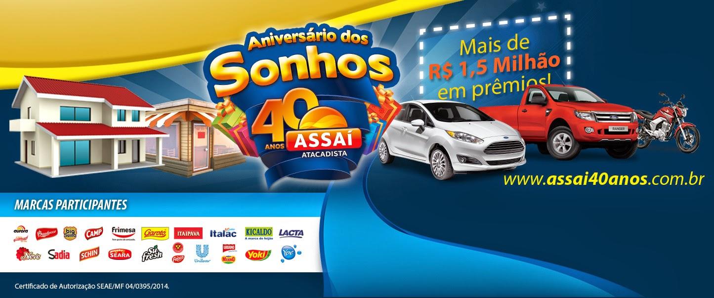 """""""ANIVERSÁRIO DOS SONHOS"""" - Promoção ASSAÍ ATACADISTA"""