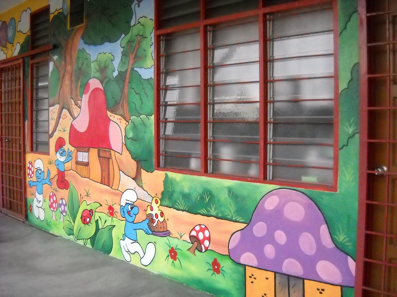 Mural tadika for Mural tadika