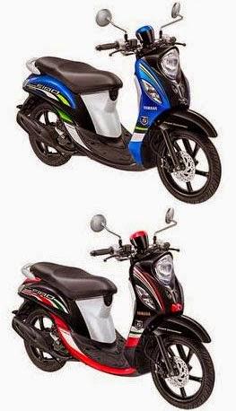 gambar Yamaha Fino Fi 2015 dan Warnanya