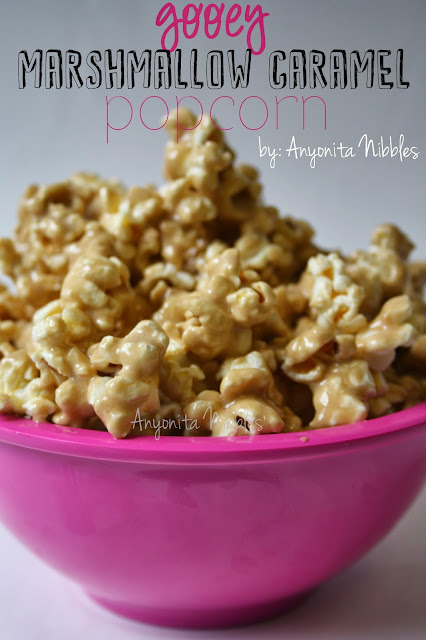 8 Last Minute Christmas Treats: Gooey Marshmallow Caramel Popcorn from Anyonita-nibbles.co.uk