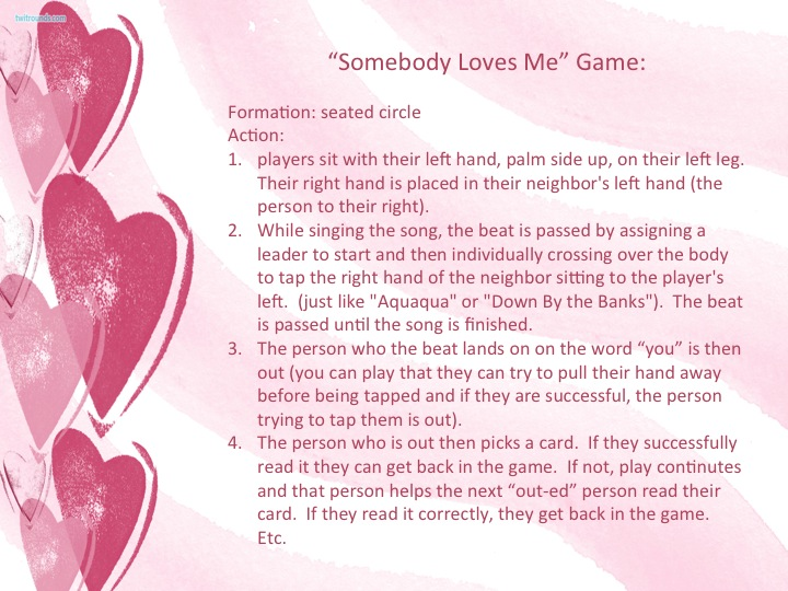 who loves me game