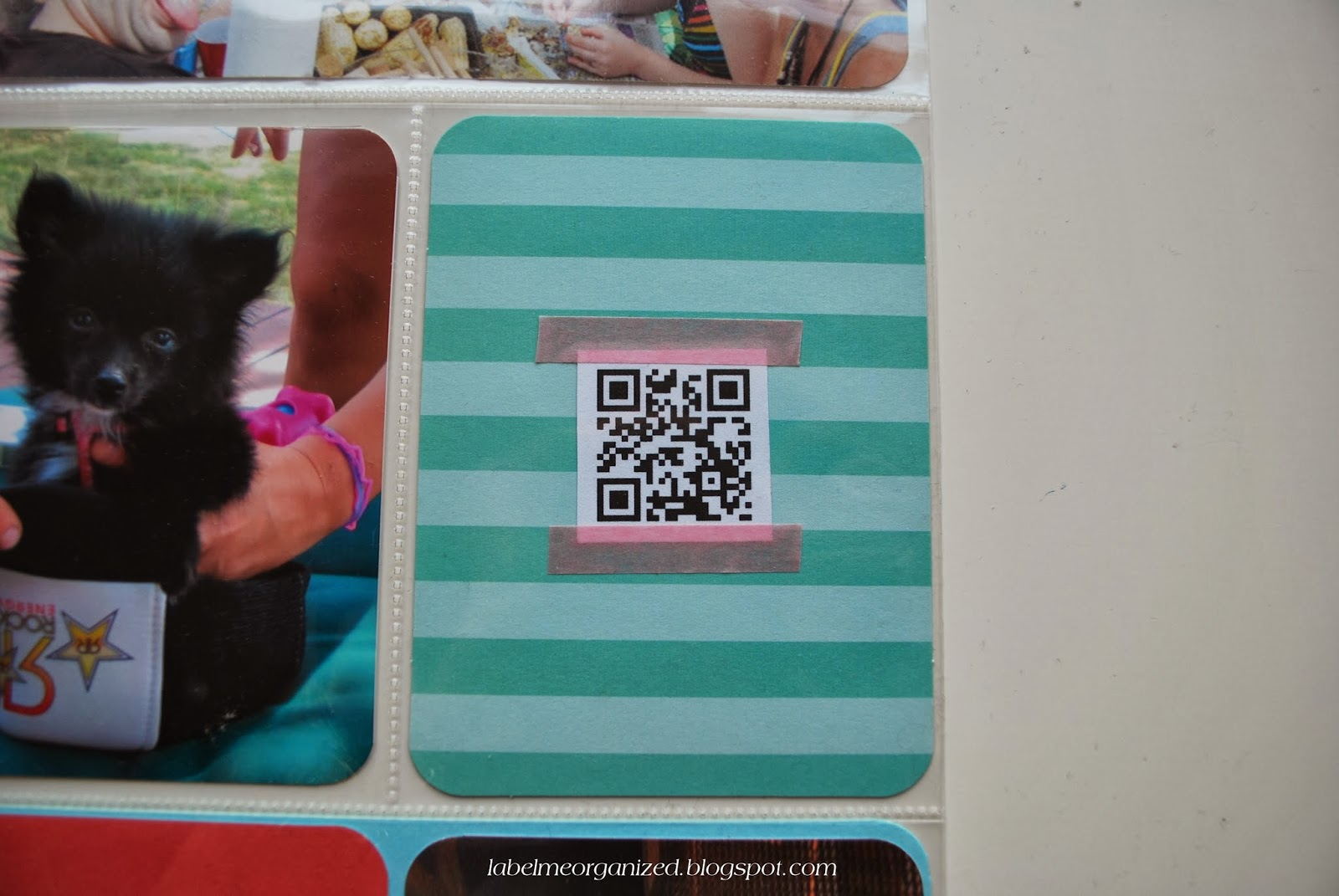 Include videos in your Project Life albums using QR codes