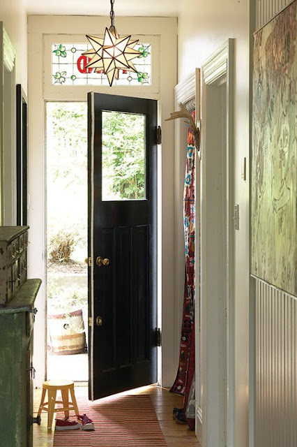 Black Interior Doors : Decorating cents black interior doors