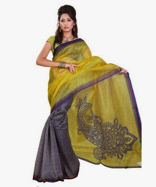 Women's Day Special : Flat 50% Off on Sarees (Wedding Silk, Georgette, Chiffon, Supernet & more) at Naaptol