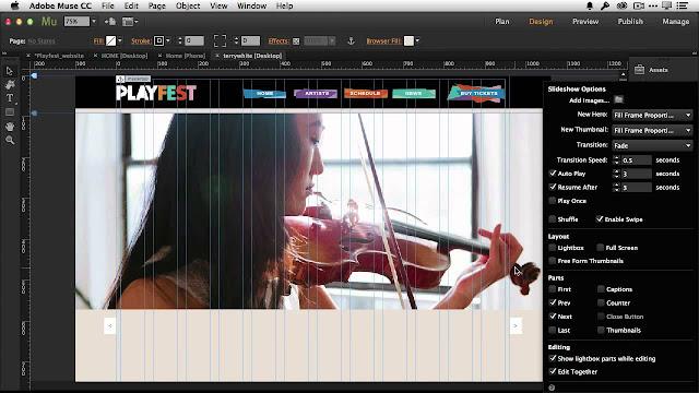 Adobe Muse CC 2015