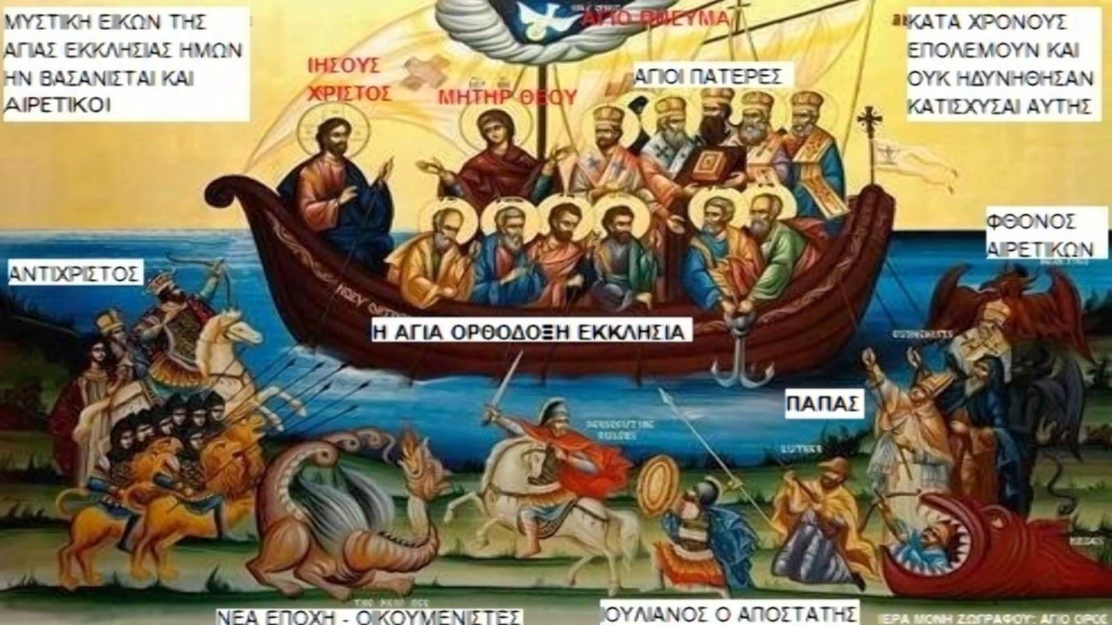 Η Αγία Ορθόδοξη Εκκλησία