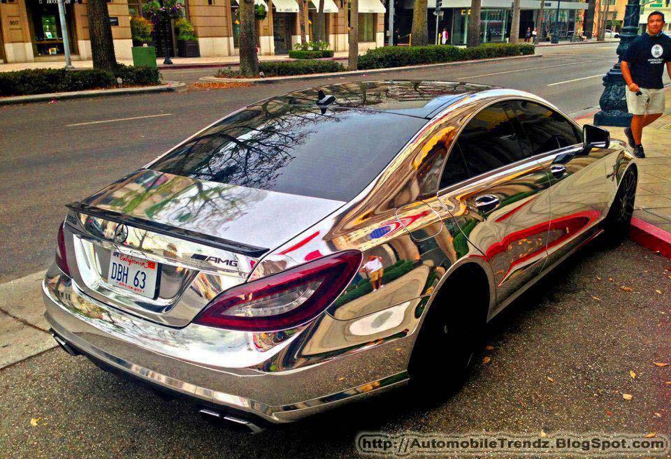 Automobile trendz mercedes benz amg chrome for Chrome mercedes benz