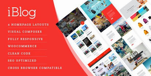 Best Creative Responsive WordPress Blog Theme 2015