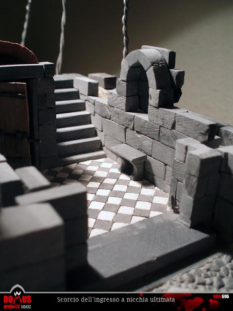 Domus project: costruzione 76: nicchia dell'ingresso