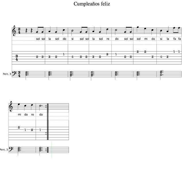 Cumplea os feliz para piano curso preparatorio todo m sica - Cumpleanos feliz piano ...